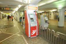 セブン銀行(三宮・花時計)