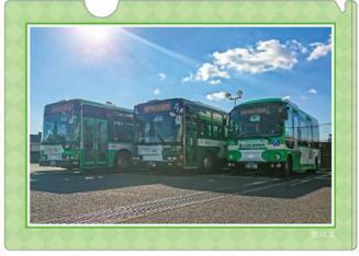 キラキラファイル市バス